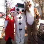 Frosty Rudoph Elf